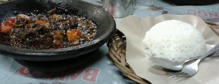 Iga Bakar Si Jangkung is one of Bandung Kuliner.