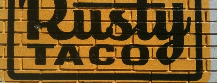 Rusty Taco is one of DFW places I'd like to try.