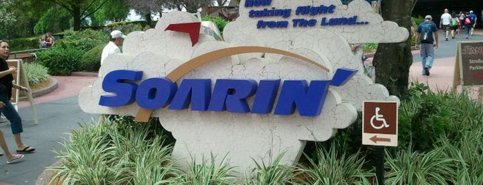 Soarin' is one of Dan's Places.