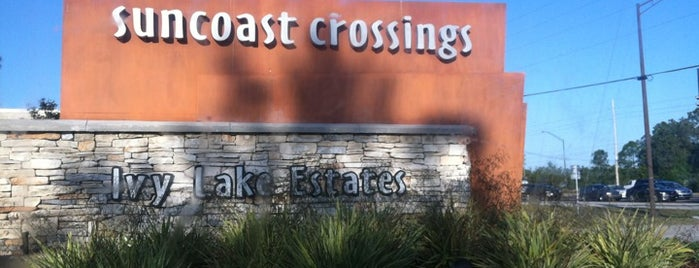 Suncoast Crossings is one of Favorite Places.