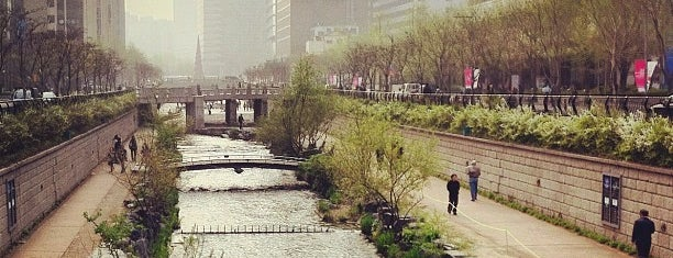 Cheonggyecheon Stream is one of South Korea.