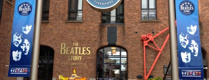The Beatles Story is one of Inglaterra - Turismo.