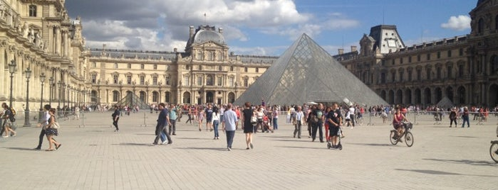 The Louvre is one of Bucket List.