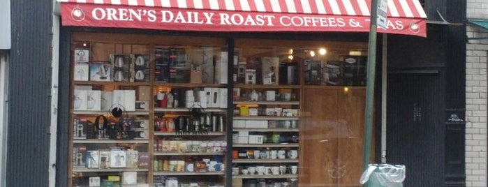 Oren's Daily Roast is one of Manhattan's Best Coffee by Subway Stop.