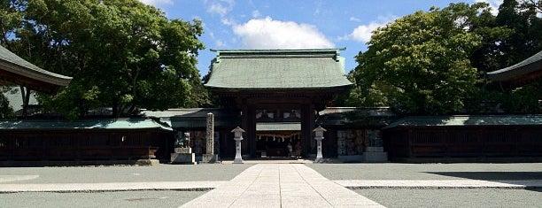 Munakata Taisha Shrine is one of 神社.