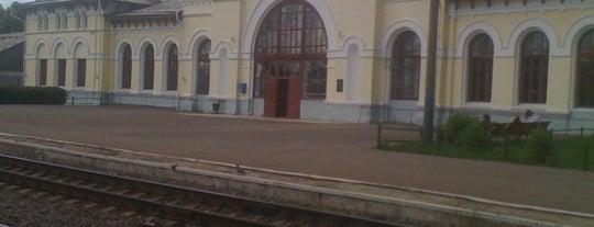 Ж/Д вокзал Шарья is one of Транссибирская магистраль.