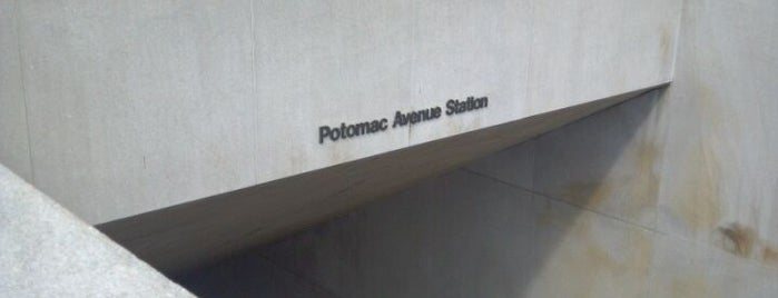 Potomac Avenue Metro Station is one of WMATA Silver Line.