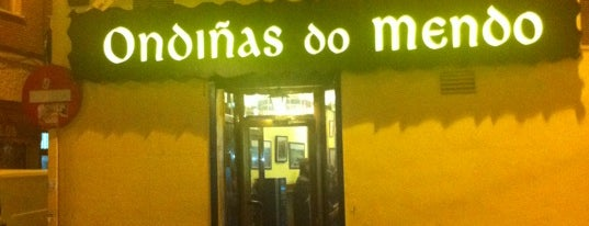 Ondiñas do Mendo is one of DeTapasxMadrid.