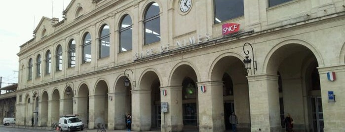 Gare SNCF de Nîmes is one of Escapade à Nîmes.