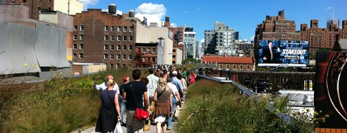 High Line is one of First time in NYC? 12 must-see sights.