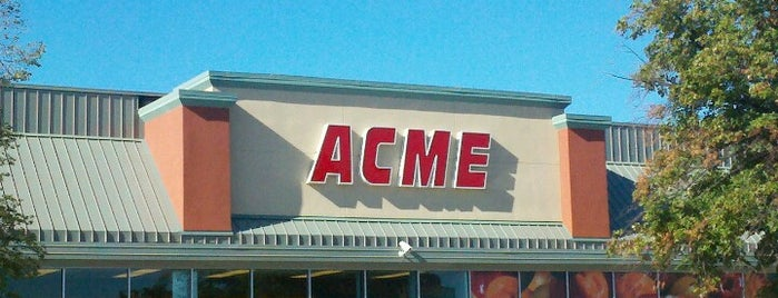 ACME Markets is one of Been there / &0r Go there.