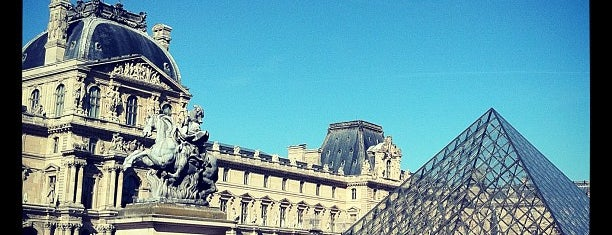 Louvre Pyramid is one of Paris must see.