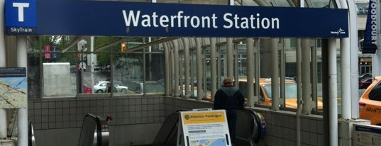 Waterfront Station is one of Places.