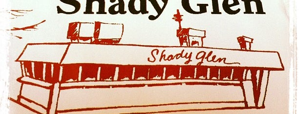 Shady Glen is one of Diners and Cheap Eats of Western Mass.