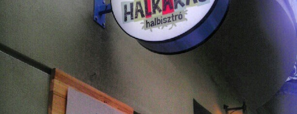 Halkakas halbisztró is one of Budapest mixed.