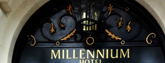 Millennium Hotel London Mayfair is one of Hotels.