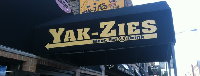 Yak-Zies Bar-Grill is one of Chicago Bulls Bars in Chicago.