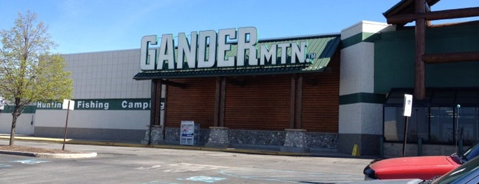 Gander Mountain is one of places i go often.