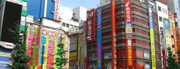 Akihabara is one of Nerd Places.