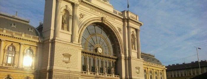 Eastern Railway Station is one of Budapest Sightseeing.