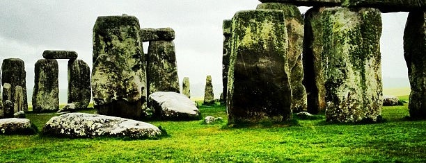 Stonehenge is one of Top 10 Foursquare Check in Online List.