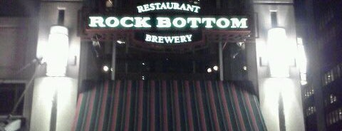 Rock Bottom Brewery is one of Best Places to Check out in United States Pt 6.