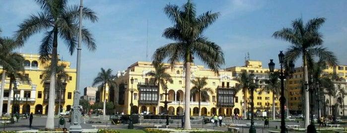 Plaza Mayor de Lima is one of Lima, Ciudad de los Reyes.