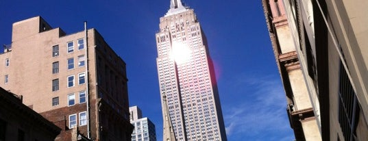 Empire State Building is one of 7 Man Made Wonders of the US.