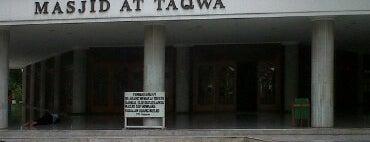 Masjid Jami' At-Taqwa is one of Jakarta. Indonesia.