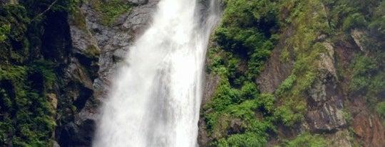 安倍の大滝 is one of 日本の滝百選.