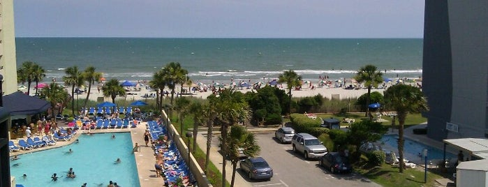 Ocean Reef Resort is one of The 15 Best Places with Good Service in Myrtle Beach.