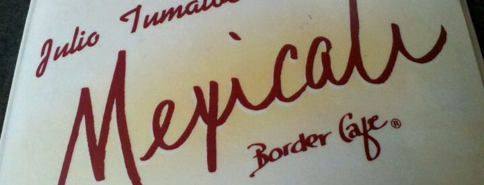 Mexicali Border Cafe is one of Slightly Stoopid Approved.