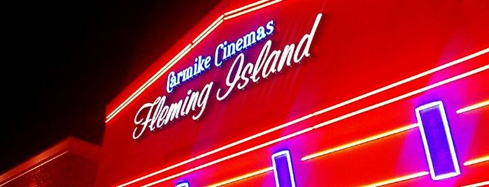 New Vision Theatres Fleming Island 12 is one of A local's guide: 48 hours in Fleming Island, Fl.