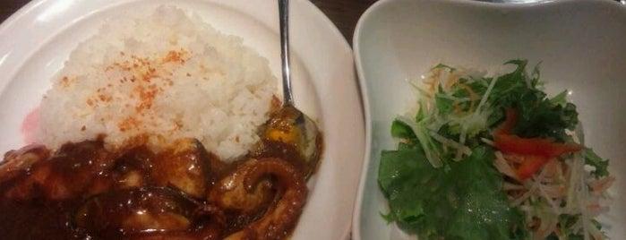 新鮮野菜と肉とカレーの店 サンフル is one of テラめし倶楽部 その1.