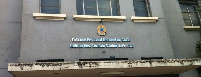 TRE-GO - Tribunal Regional Eleitoral de Goiás is one of Utilidade Pública.