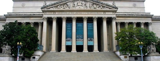 National Archives Rotunda is one of DC To Do - Activities.