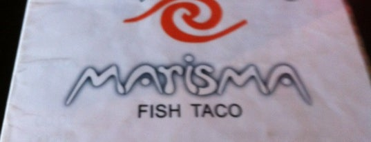 Marisma Fish Taco is one of Puerto Vallarta best mexican popular food.