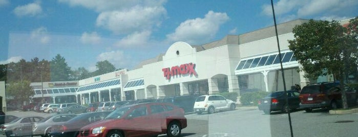 T.J. Maxx is one of just a list of places.