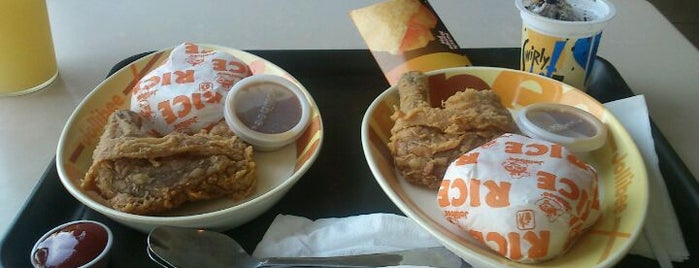 Jollibee is one of Great places for everything.