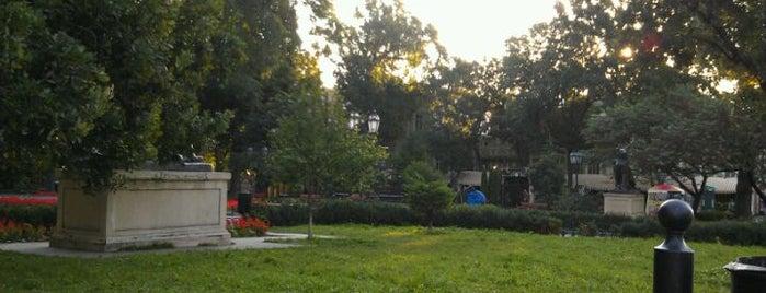 Gorsad / City Garden is one of TOP-20: Одеса.