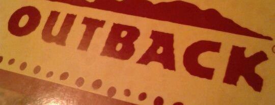 Outback Steakhouse is one of Lugares que eu gosto:.