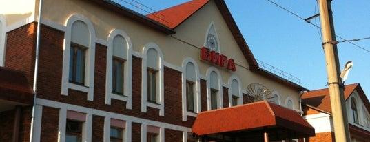 Ж/д станция Бира is one of Транссибирская магистраль.
