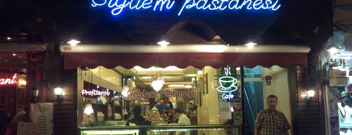 Çiğdem Pastanesi is one of The 15 Best Places for a Baklava in Istanbul.