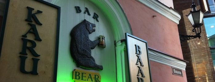 Karu Baar is one of The Barman's bars in Tallinn.