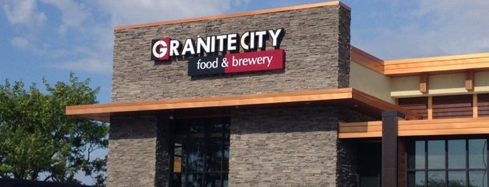 Granite City Food & Brewery is one of Michigan Restaurants.