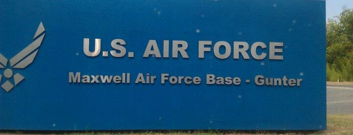 Maxwell AFB/Gunter Annex is one of AFBs.
