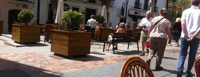 Plaza Cavana is one of Nerja.