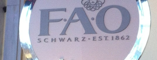 FAO Schwarz is one of NYC to do.