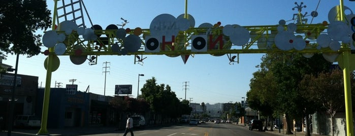 NoHo Arts District is one of I'm in L.A. you trick!.