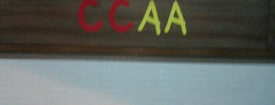 CCAA is one of Lugares que mais frequento.
